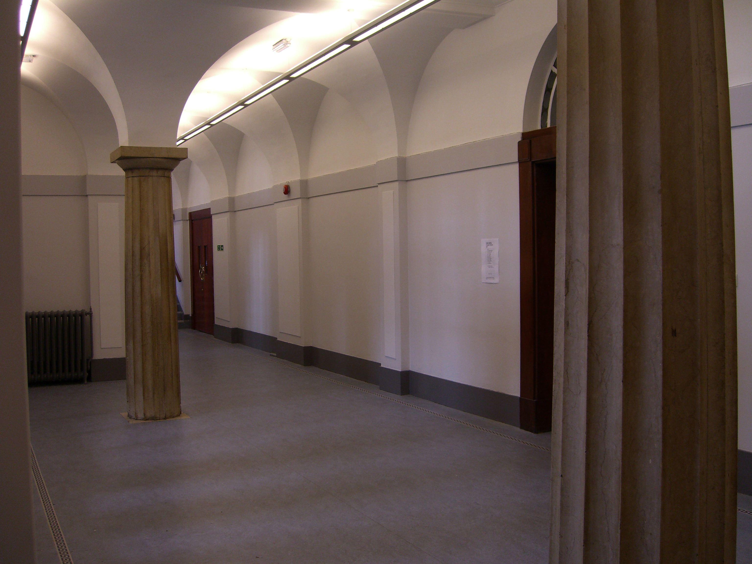 Ashton building 1st floor corridor